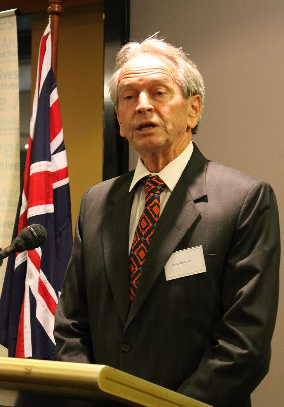Ross Johnson, recipient of the 2012 John Douglas Kerr Medal of Distinction