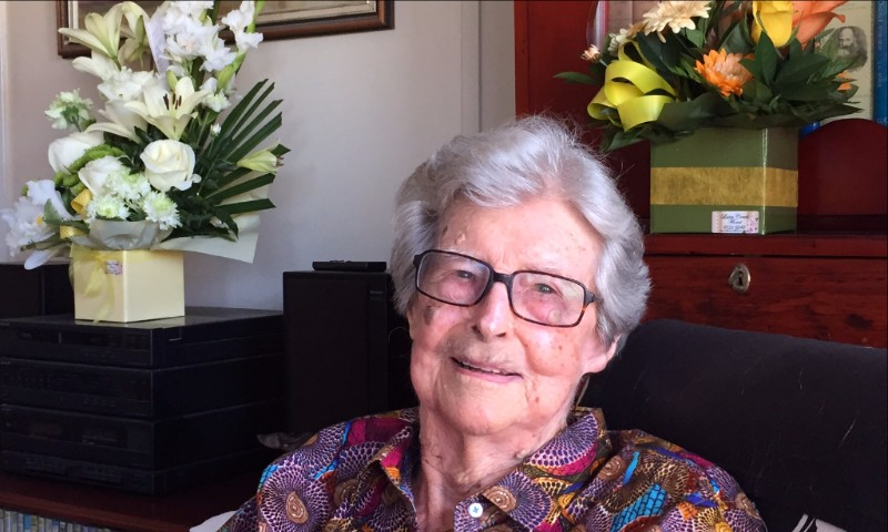 Dr Lorna McDonald on her 100th Birthday