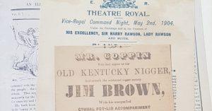 Australian theatre history in SLV
