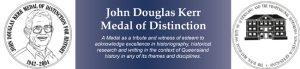 NOMINATIONS OPEN: 2019 JOHN DOUGLAS KERR MEDAL