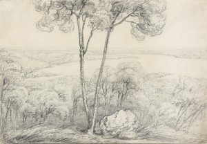 William Westall Thirsty Sound 1802 pencil on paper NLA R4337